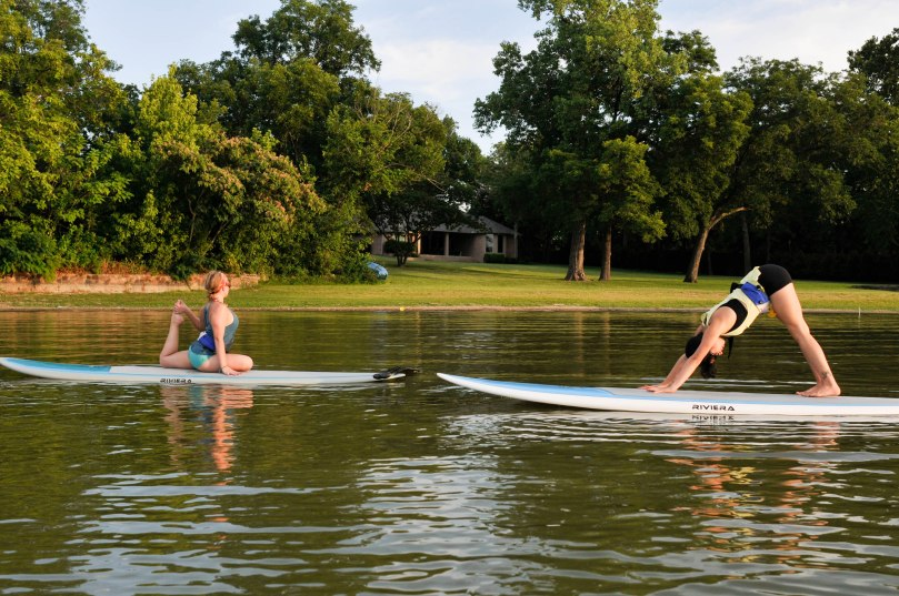 SUP Yoga in Fort Worth